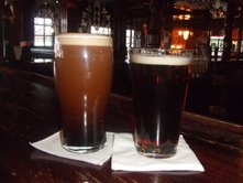Guinness (Left) and Smithwick's (Right)
