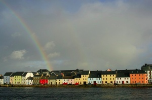 Easiest way to get lost in Galway: search for the pot of gold after 5 pints of Guinnes