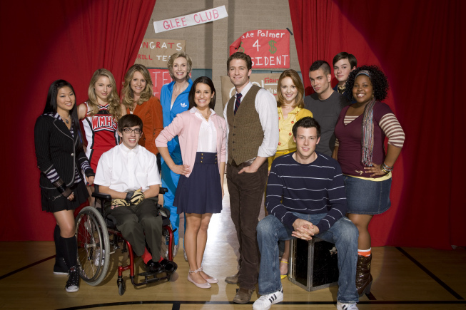 green tips from the cast of glee how to celebrate earth
