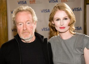 Ridley Scott and Jordan Scott from fashionmagazine.com at Cracks Premiere at TIFF