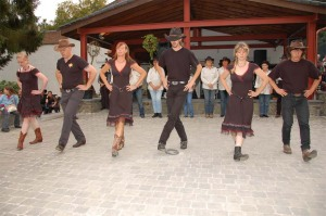 Line dancing...in Belgium! (image from flickr)