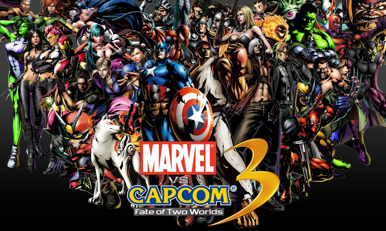 Marveling at what capcom has created