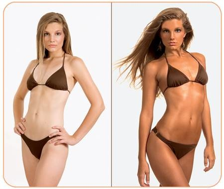 before and after tanning photos. I#39;ve gone tanning before,