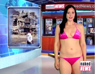 clip Naked news weather